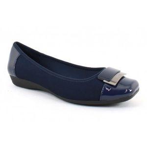 Size 10Med Navy Blue Anne Klein Sport Akuna Flat